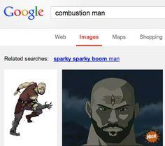 Sokka, master of the Google.