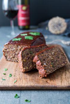 Linsenbraten mit Bratensoße |Eat-Vegan