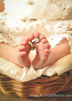 Beautiful Newborn In Home session by Kat Hall Photography #weddingrings #babytoes #newbornphotos #DIY