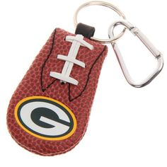 Green Bay Packers Brown Keychain