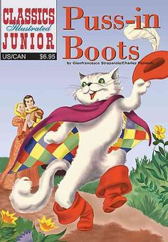 Classics Illustrated Junior 11: Puss-in-boots