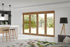 La Porte Vista Oak External Door Set (prefinished) #externaldoors
