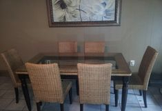 Pier one wicker dining chairs