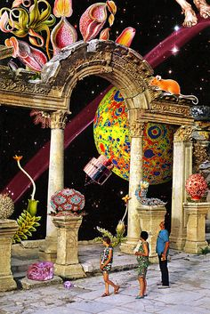 "Eugenia Loli collage ""Minute Two"""