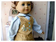 American Girl 18 Inch Doll Clothes Two Piece by BonJeanCreations
