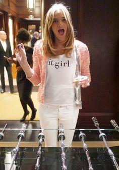IT GIRL tee shirt (DIY ?)