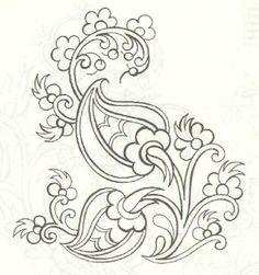 Kumaş Boyama Desenleri 6