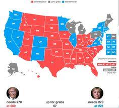 Hillary Clinton will win Nevada.