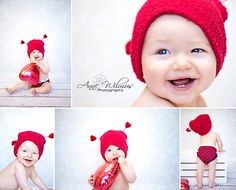 Little love bug! Great idea with the heart balloon! Valentine Picture, Valentines Day Baby, Valentines Day Photos, Xmas Pictures, Baby Pictures, Baby Photos, Holiday Mini Session, Children Photography, Photography Ideas