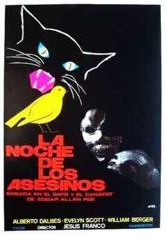 """Night of the Killers (Jesus Franco, 1974, """"La Noche De Los Asesinos,""""A. K. A. Night of the Skull, A. K. A. Night of the Assassins)"""