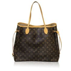 3ca2c3763 Louis Vuitton Monogram Neverfull GM Shoulder Bag Carteiras, Bolsas Louis  Vuitton, Dias Da Moda