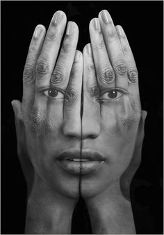 Double Exposure Paintings by Tigran Tsitoghdzyan.