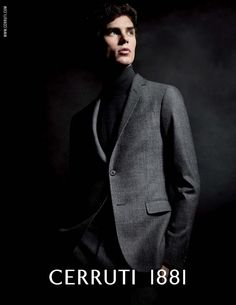 ag cerruti001 800x1034 Arthur Gosse Poses for Cerruti 1881 Fall/Winter 2013 Campaign