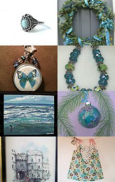 Sea...Mutual Admiration Society treasury...A4 team and friends by Cindy Brown on Etsy--Pinned with TreasuryPin.com