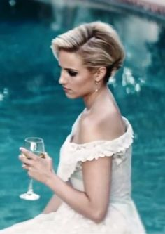 Dianna Agron Acts in Sam Smiths New Im Not The Only One Video