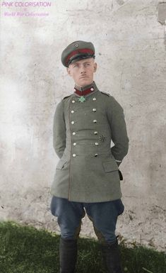 Field Marshal Erwin Rommel as a young Gebirgsjager officer during World War I.
