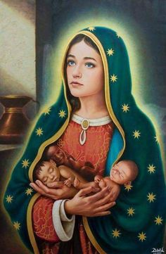 Catholic Art, Catholic Saints, Religious Art, Catholic Pictures, Jesus Pictures, Blessed Mother Mary, Blessed Virgin Mary, Mother Mother, Immaculée Conception
