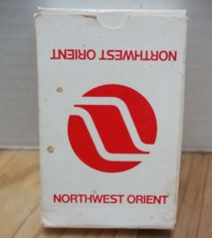 Vintage Northwest Orient Playing Cards Complete Deck