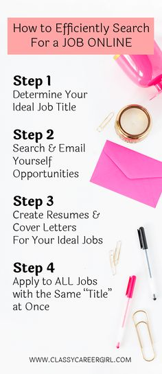 How to Efficiently Search For a Job Online - list