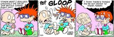 Classic Rugrats Comic Strip for May 13, 2021 | NickelodeonWatch classic Rugrats on Paramount+!The all new CG-animated Rugrats series premieres Thursday, May 27, exclusively on Paramount+!More Nick:Nickelodeon Taps All-Star Voice Talent Lineup for Iconic Grown-Up Roles in Brand-New Rugrats, Debuting Spring 2021 on Paramount+!Rugrats, provided to Creators Syndicate by Nickelodeon, based off the popular animated television series has been created for children and family's to laugh and enjoy t