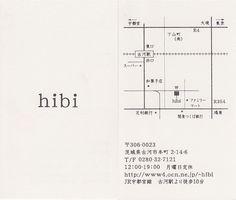 hibi/ショップカード                                                                                                                                                     もっと見る                                                                                                                                                                                 もっと見る