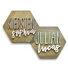 Wood Name Sign, Wood Names, Wood Signs, Name Wall Decor, Nursery Wall Decor, Baby Decor, Nursery Name, Nursery Signs, Girl Nursery
