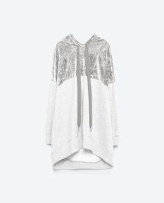 Image 8 of OVERSIZED SWEATSHIRT from Zara