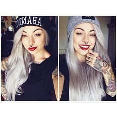 #gothhair Ideas -  Long #crazycolours #haircoloring with #growme shampoo #halloween #halloweenhair #halloweenhairstyles