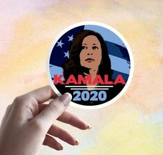 Kamala Harris 2020 Presidential Election Democrat Sticker Election Day, Presidential Election, Kamala Harris, Democratic Party, Easy Drawings, Order Prints, Presidents, Clip Art, Water Bottles