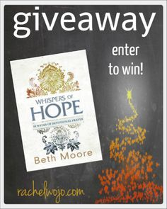 A few weeks back, I stumbled across an ad with Beth Moore's latest release, Whispers of Hope. At the time I had no idea that it was a devotional prayer journal. When I received the book, -- also includes the weekly blogger linkup- Whimsical Wednesdays!