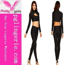 jumpsuit with long sleeve ,sexy black jumpsuits 2014 ,bodycon jumpsuit made in china KM012B Best Buy follow this link http://shopingayo.space