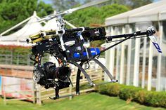 action....  helicam and Canon 5d