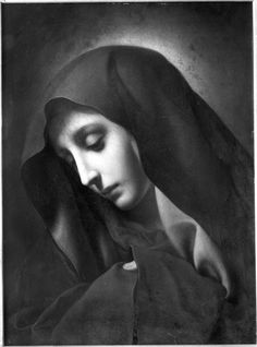 Mater Dolorosa by Carlo Dolci (1616-1686)