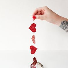 If you have 10 minutes and a love for all things heart shaped, this project is for you!