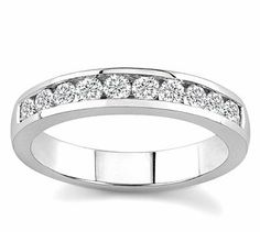 10k White Gold or Yellow Gold Channel-Set Diamond Band (H/I2-I3, 1/2 ct. tw.) MontRED, http://www.amazon.com/dp/B001R9F17A/ref=cm_sw_r_pi_dp_1um3pb08A8V6G