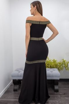 Off Shoulder Maxi Dress-Maxi Dress-Moda Fina Boutique Mini Club Dresses, Satin Lingerie, Queen, Off The Shoulder, Sequins, Feminine, Rompers, Glamour, Boutique