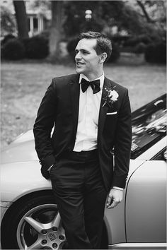 oh hello handsome groom captured by the talented Alexandra Whitney Photography #wchappyhour #weddingchicks