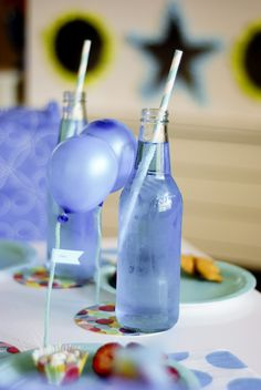 anniv enfant bleu ! blue kids birthday party