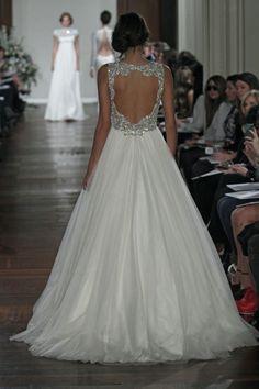 Endless glam & breathtaking backs abound @TheJennyPackham #wedding dress newest collection
