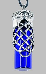 Celtic Oil Bottle Necklace
