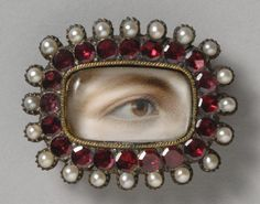 Philadelphia Museum of Art - Collections Object : Portrait of Sarah Best's Right Eye, watercolor on Ivory.