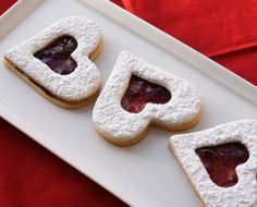Romantic Valentines Text Messages Jokes.  Gourmet Raspberry Jam Filled Heart Cookies  40 Valentines Day Ideas