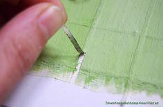 Cómo hacer plantillas caseras para stencil | Hacer bricolaje es facilisimo.com