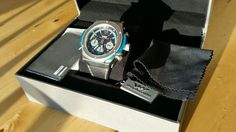 Weil Harburg Watch Mens Swiss Movement Stainless Steel Black Leather Band $2190