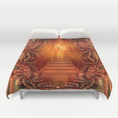 A glimpse of heaven Duvet Cover by Giada Rossi - $99.00