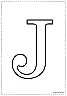 Printable Letter Z Coloring Page Letters See More J Abecedario Letras Grandes Imprimir Mayusculas