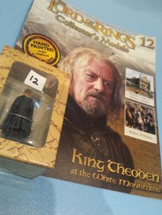 Collectors Hand Painted Lead Model Magazine LOTR Eaglemoss 12 King Theoden in Collectables, Fantasy/ Myth/ Magic, Lord of the Rings/ Tolkien   eBay