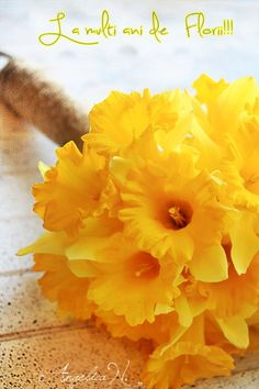 La multi ani de Florii!!!