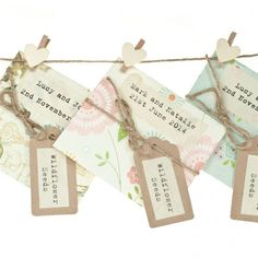 Full Colour Seed Packet Wedding Favour From Notonthehighstreet Favours Wildflower Seeds