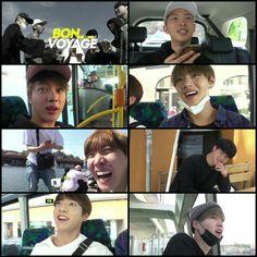 #BTS #방탄소년단 Bon Voyage Episode 5 ❤ Bangtan are PERFECTION.